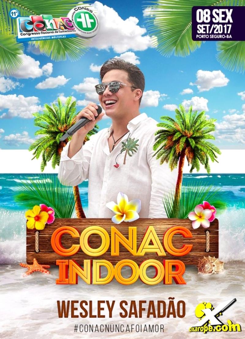 Wesley Safadão no Conac Indoor -  - Porto Seguro - BA