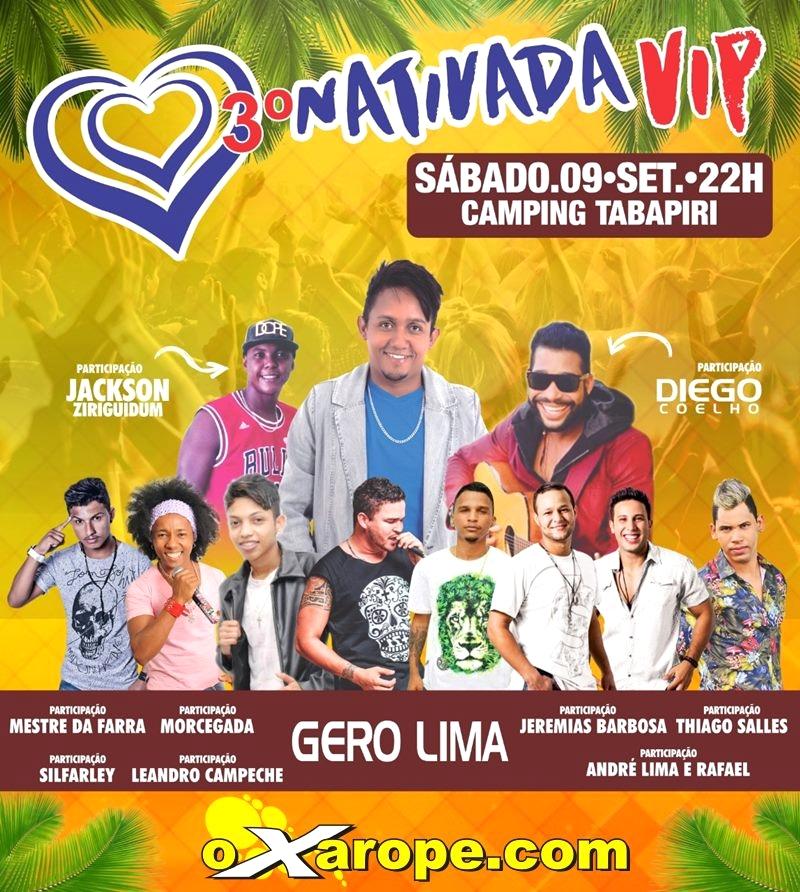 Gero Lima e convidados no 3º Nativada Vip -  - Porto Seguro - BA