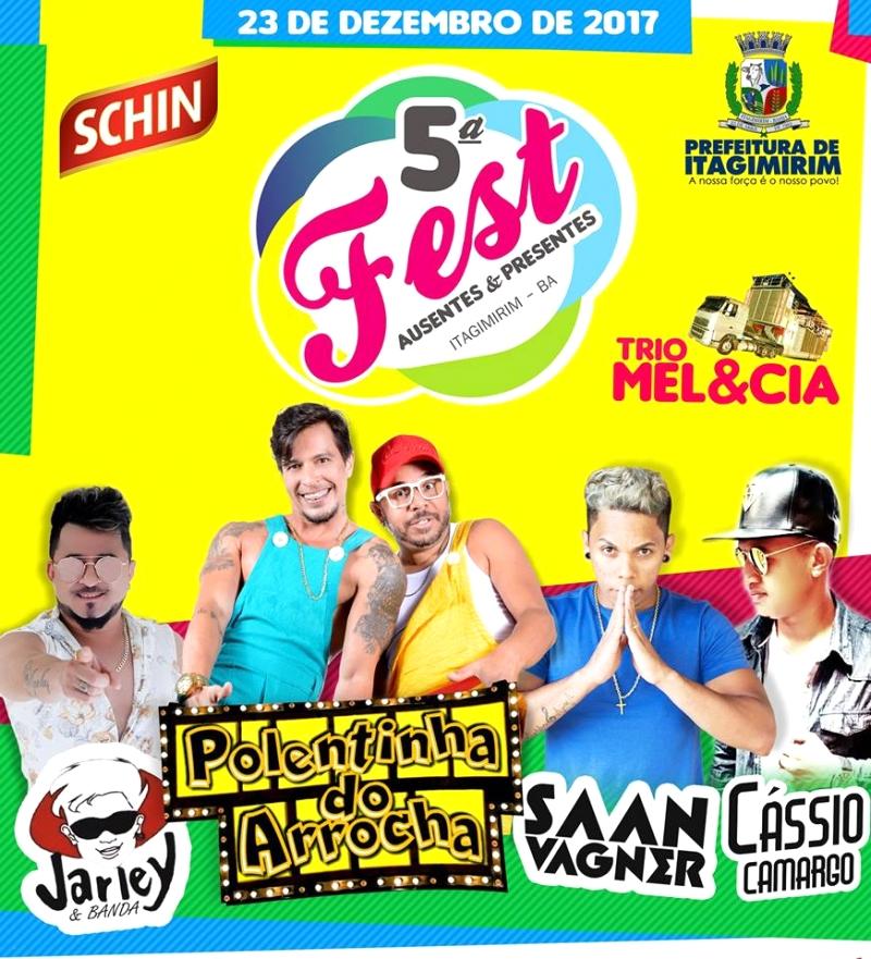5º Fest Ausentes e Presentes - Praça Castro Alves - Itagimirim