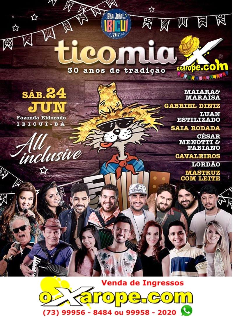 Programação do Ticomia 2017 -  - Ibicuí