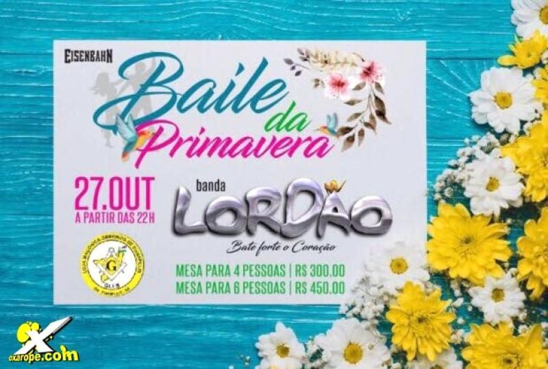 Lordão no Baile da Primavera -  - Eunápolis-BA