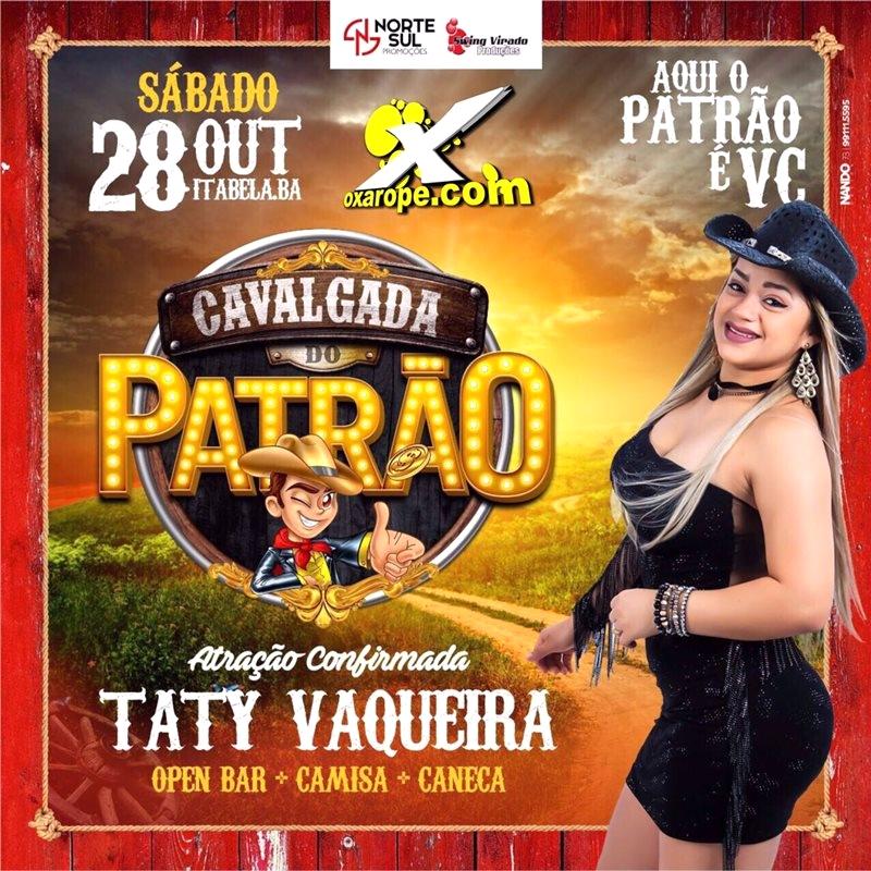 Cavalgada do Patrão -  - Itabela-BA