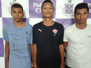Polícia realiza prisão de suspeitos de assassinato em Teixeira de Freitas