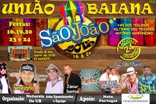 Distrito de União Baiana em Itagimirim terá 05 dias de festa nesse mês de Junho