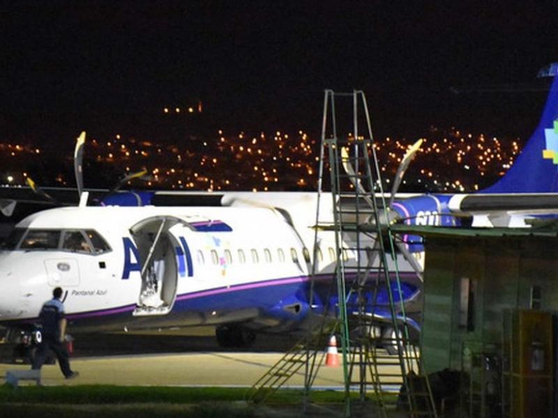 Avião com pane elétrica realiza pouso de emergência em aeroporto da Bahia
