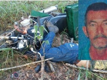 Motociclista bate em árvore e morre em Posto da mata distrito de Nova Viçosa