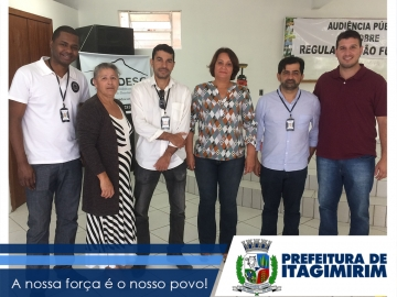 Prefeitura de Itagimirim realiza audiência para regularização fundiária