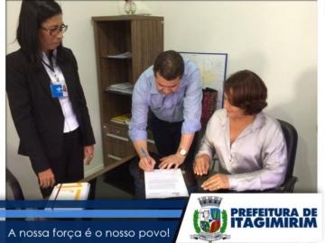 Prefeitura de Itagimirim Assina termo que facilitará abertura de empresas no município