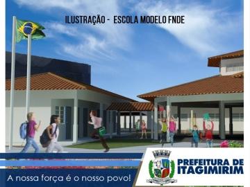Prefeitura de Itagimirim busca recursos no FNDE para concluir escola