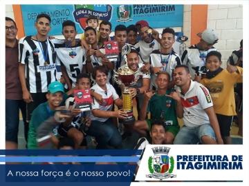 Prefeitura de Itagimirim realiza grande final da ITACUP 2017