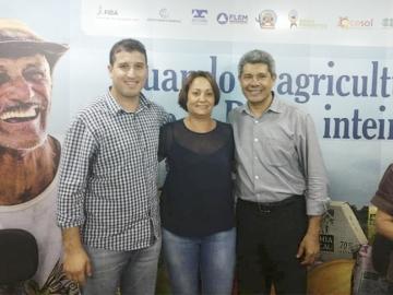 Prefeita Devanir Brillantino participa da 30ºª FENGRO em Salvador