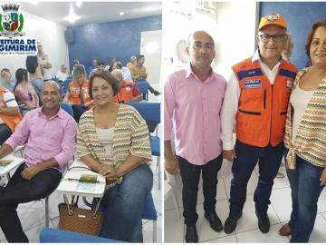 Prefeita Devanir Brillantino participa do II Seminário Regional de Proteção e Defesa Civil