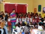 Crianças do Serviço de Convivência de Itagimirim prestam homenagem às mães