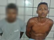 Dupla é presa manipulando crack para comercialização em Teixeira de Freitas
