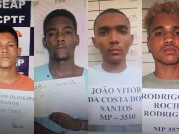 Quatro detentos fogem do Conjunto Penal de Teixeira de Freitas