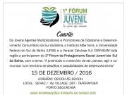 1º Fórum de Protagonismo Social Juvenil do Sul da Bahia