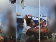 Vídeo mostra stripper sem calcinha dentro de presídio; assista