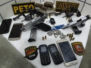 Quatro criminosos morrem em confronto com a PM em Teixeira de Freitas