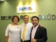Prefeita Devanir visita deputado Roberto Carlos em busca de melhorias para Itagimirim