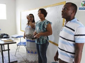 Prefeita Devanir Brillantino vistoria escolas e acompanha início do ano letivo 2018