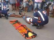 Duas pessoas ficam feridas em acidente de trânsito em Itamaraju