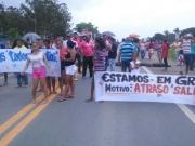 Rodovia é liberada após duas horas de protestos em Itagimim