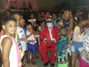 Doação anônima faz a alegria da criançada em União Baiana