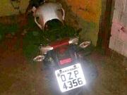 Moto roubada é recuperada em Itapebi; Bandidos conseguem fugir após troca de tiros com PM