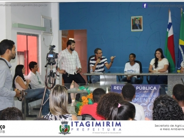 Prefeitura de Itagimirim realiza Reunião Pública sobre Saneamento Básico
