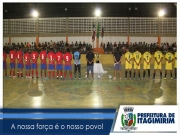 Torcida lota ginásio na primeira rodada da Taça Cidade de Itagimirim