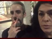 Paula Lavigne fuma maconha com amigo no Uruguai e defende legalização; assista