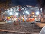 Fiéis católicos reconstroem barraca e continuam programação dos festejos de São João em Itagimirim