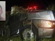Motorista morre após capotar caminhão na BR-101