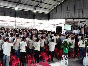 Mais de 600 fiéis se reúnem durante VI Congresso Diocesano do Terço dos homens em Itagimirim