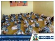 Prefeitura de Itagimirim realiza entrega de alimentos do PAA