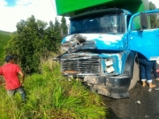Motorista morre após grave acidente na BR-101 entre Itamaraju e Itabela