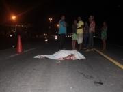 Mulher morre vítima de atropelamento na BR-367 em Vera Cruz