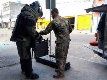Polícia localiza 30 kg de explosivos dentro da sede da Prosegur em Eunápolis
