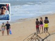Corpo de jovem que se afogou na praia de Prado continua desaparecido