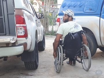 Cadeirante é preso por tráfico de drogas em Ipiaú