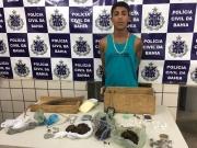 Polícia desarticula esquema de tráfico de drogas em Teixeira de Freitas