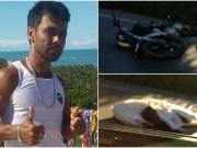 Motociclista morre em grave acidente na BR-101 próximo a ponte do Rio do Peixe