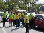 Motoristas de Transporte Alternativo realizam protestos em Porto Seguro