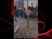 Estudantes brigam próximo a escola em Alcobaça; veja o vídeo