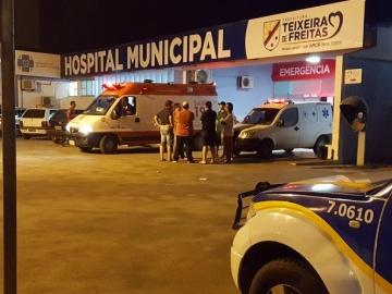 Menino de dez anos é vítima de bala perdida em Teixeira de Freitas