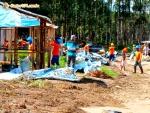 Cerca de 80 integrantes sem-terra agridem vigilantes de empresa em Eunápolis