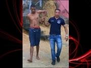 Polícia realiza a prisão de Trem Bala em Medeiros Neto
