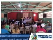 Prefeita de Itagimirim participa de sessão do legislativo no distrito União Baiana