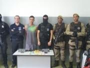 Operação policial realiza prisão de homicida em Caravelas