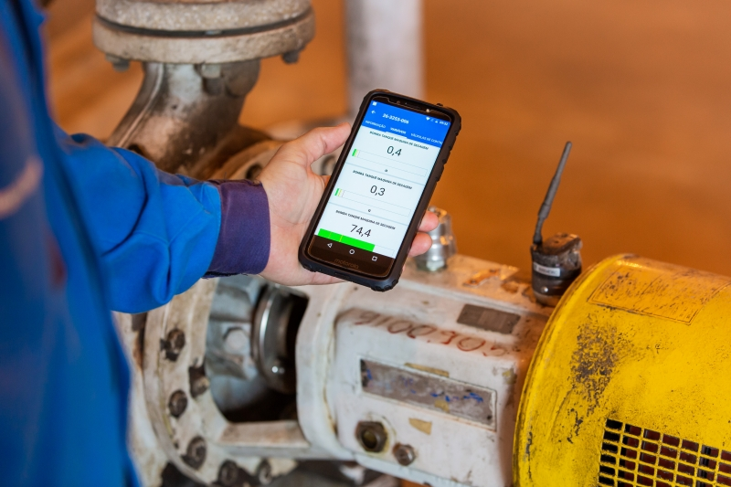 Monitoramento pode ser feito até pelo celular. (Divulgação)